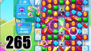 Candy Crush Soda Saga Level 265 | Complete! No Booster!