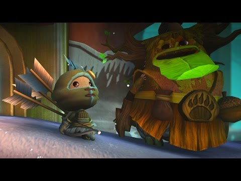 LittleBigPlanet 3  100% Challenge Room: Bear With Us  LBP3 PS4