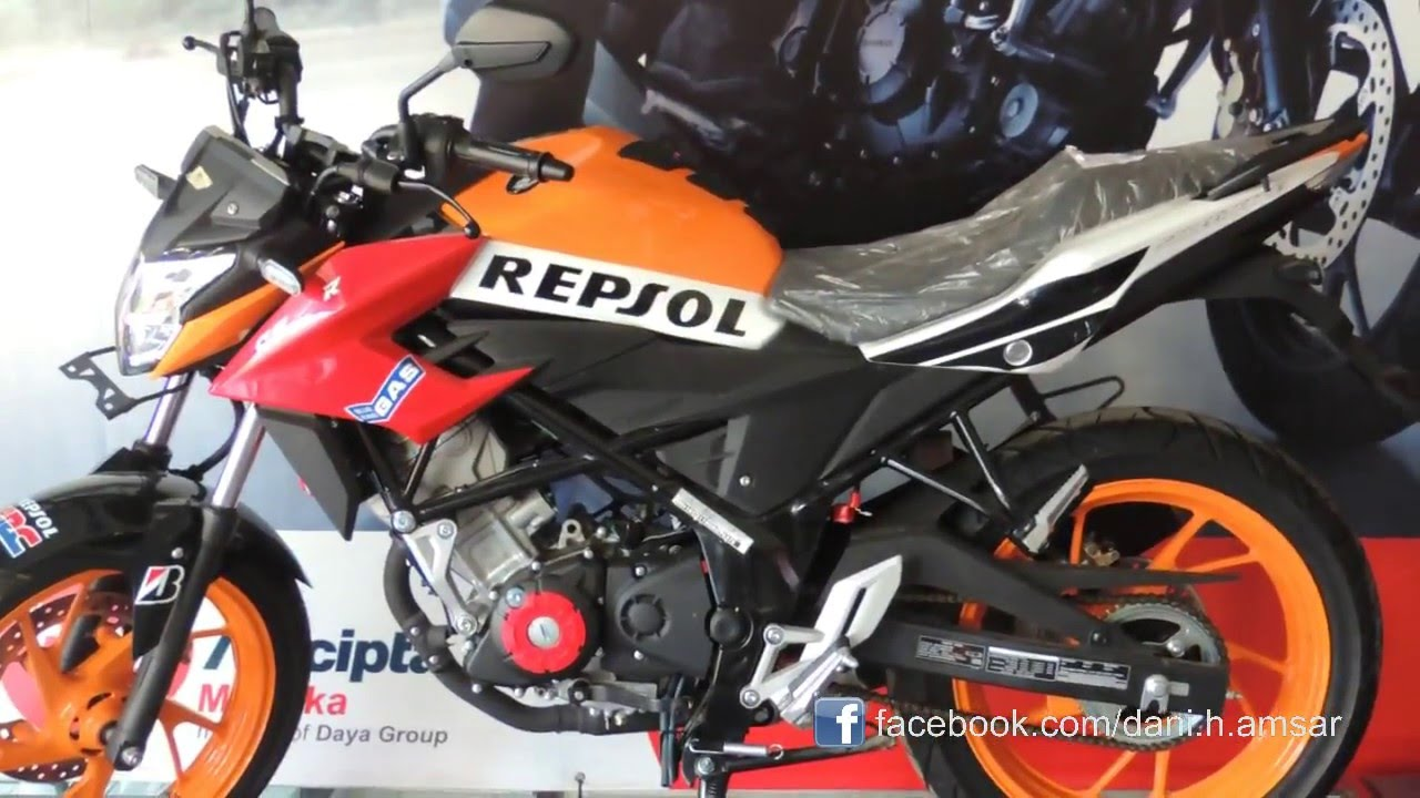 All New Honda Cb150r Special Edition YouTube