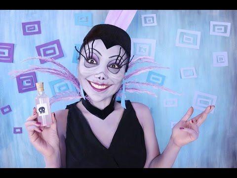 the emperors new groove yzma makeup tutorial youtube