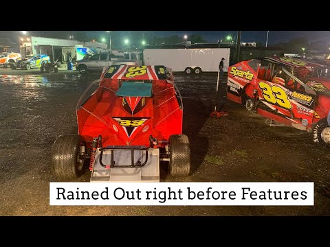 Big Block Double Features Rained Out at Orange County Fair Speedway