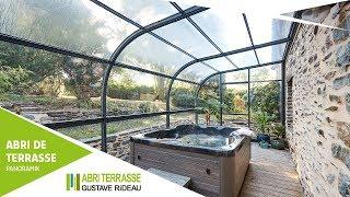 Abri de terrasse Panoramik avec spa