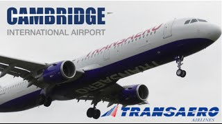 *Mega Rare* Transaero Airbus A321 Landing at Cambridge Airport(, 2016-04-09T16:00:01.000Z)