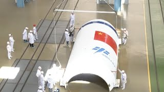 Long March-7 Rocket Starts Journey to South China
