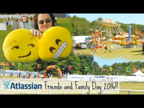 Atlassian Friends & Family Day 2016!! - Vlog #137 - Nuestra