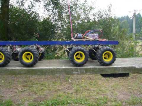 Clod Buster 8x8 & dog bridge