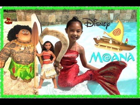 Disney Moana Turns Mermaid Maui