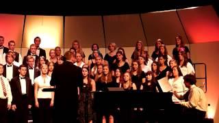 Rhythm of Life sung during CHS Spring Concert 2013 arr by Richard Barnes