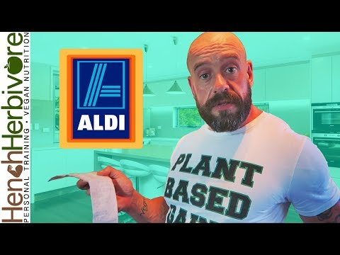 Vegan In For A Shock At Aldi | Food Haul