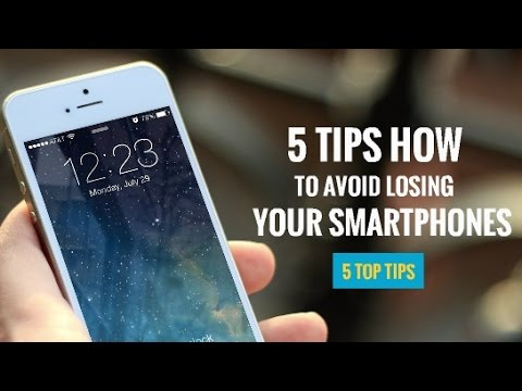 5 Tips On How To Avoid Losing Your Phone