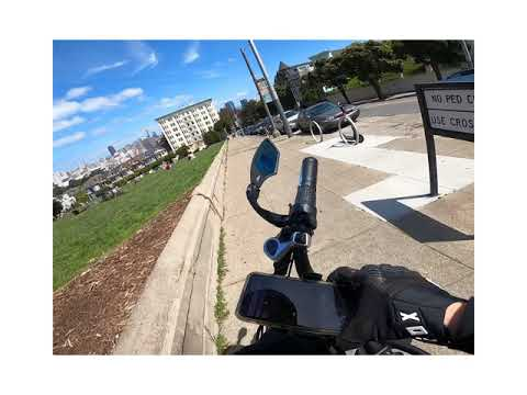 Outer Richmond to Painted Ladies in San Francisco (featuring @fnnch) on an Ariel D-Class Ebike