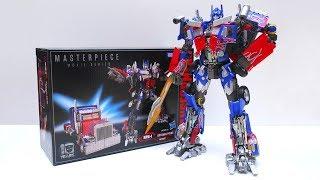 ATR - Transformers MPM-4 Masterpiece Movie Optimus Prime Review マスターピース ムービー オプティマス プライム レビュー