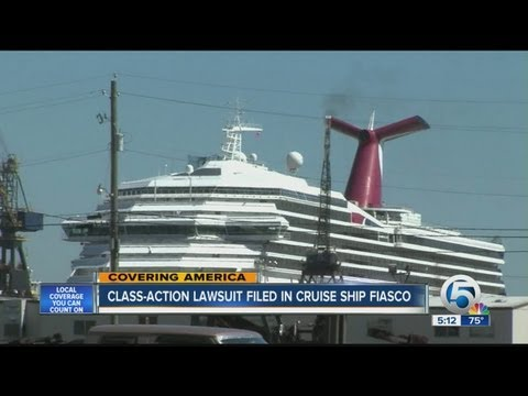 Class-action lawsuit filed in cruise ship fiasco