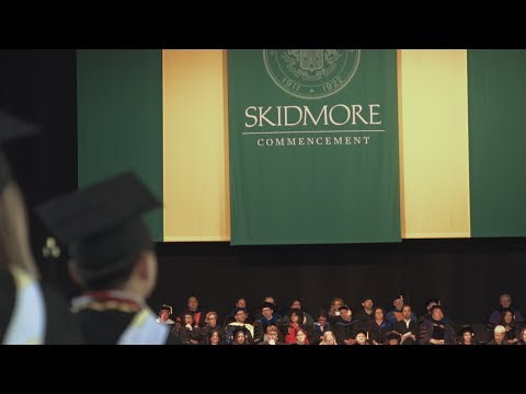 Skidmore Commencement Highlights 2017