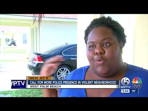 Call for more police presence in violent neighborhood