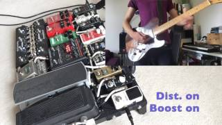 Guitar delay pedal trick - More Than A Feeling by Boston