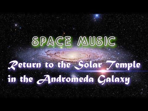 Возвращение  в галактику Андромеда. Return To The Andromeda Galaxy. Space Music And Traveling.