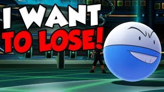 I WANT TO LOSE! Pokemon Let's Go WiFi Battles!