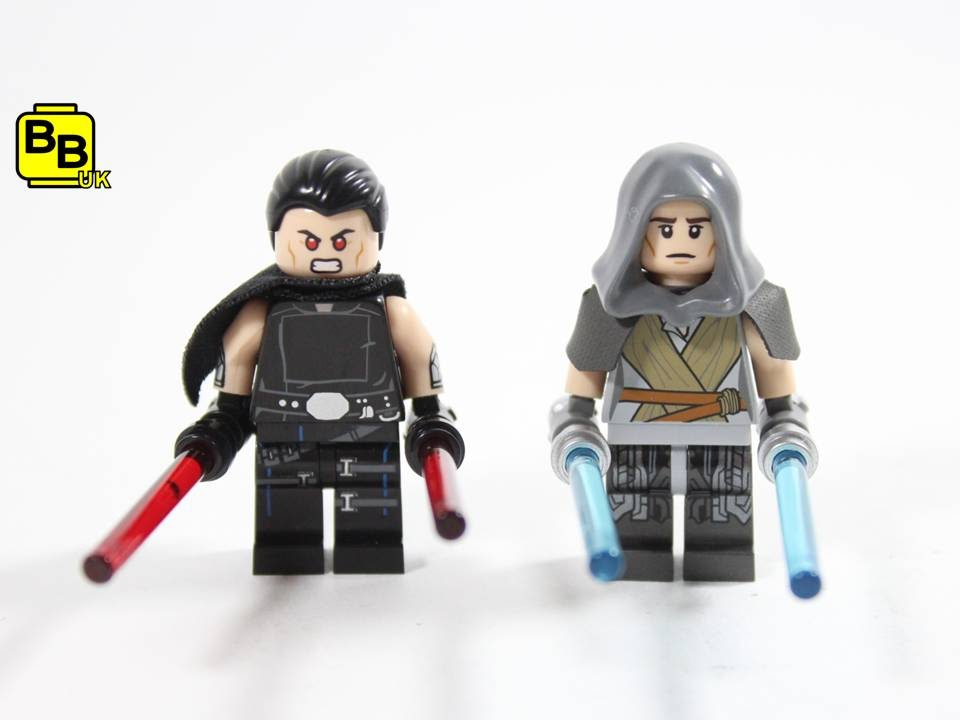LEGO STAR WARS LEGENDS DARK SIDE & LIGHT SIDE GALEN MAREK MINIFIGURE ...