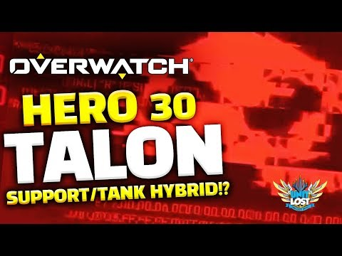 Overwatch Hero 30 TEASE! Talon Tank/Support Hybrid!? thumbnail