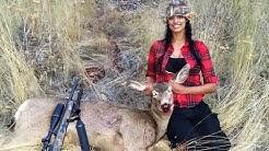 Deer Hunting Hell's Canyon Mule Deer Vs .223 55 grain SP Idaho 2016