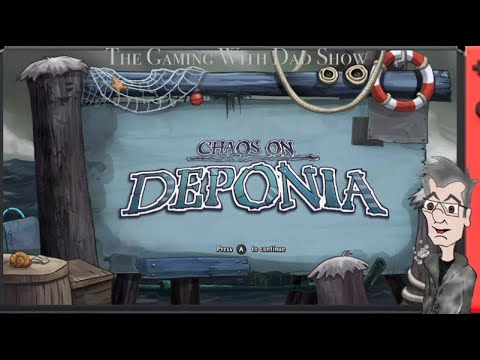 Dad Chokes the Parkeet | Chaos on Deponia | TGWDS |