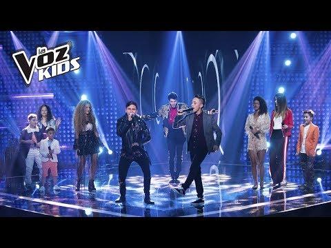 El Equipo Yatra canta Por Fin Te Encontré | La Voz Kids Colombia 2018