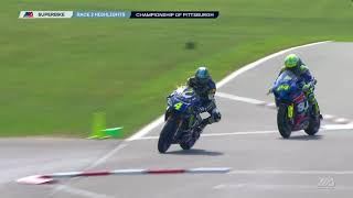 MotoAmerica Superbike Race 2 Highlights Pittsburgh International Race Complex