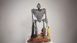 стальной гигант из полимерной глины (м/ф Стальной гигант /The Iron Giant)