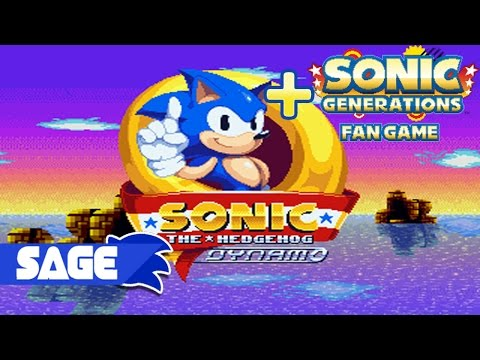 Играем в фан-игры - Sonic the hedgehog Dynamo (+Sonic Generations fan game) (SAGE 2014)