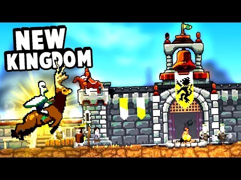 Building a New Kingdom While Riding a Magical Deer in Kingdom Two Crowns!