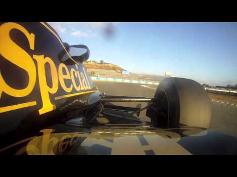 Lotus 92 Qualifying Jerez 2013 Part 1