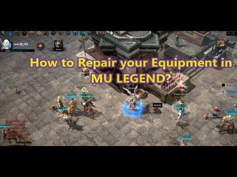 wow legion how to repair gear