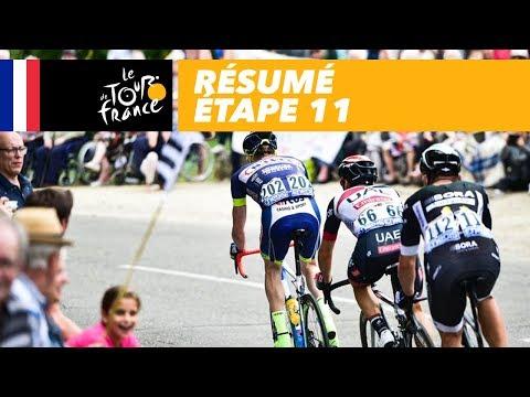 Résumé - Étape 11 - Tour de France 2017