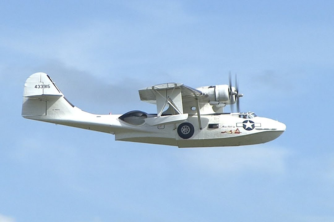 Consolidated Pby Catalina Youtube