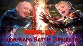 Superhero Battle Simulator   Roblox