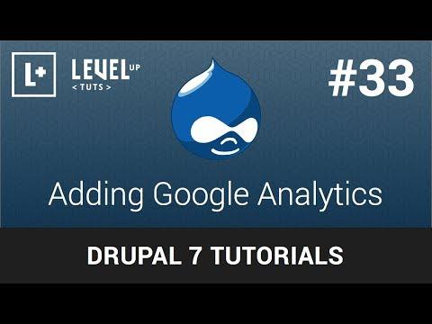 Drupal Tutorials #33 - Adding Google Analytics