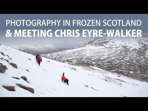 Photography in Scotland & meeting Chris Eyre-Walker