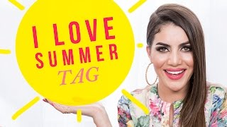 I Love Summer Tag Thumbnail