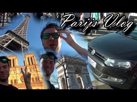 PARIJS VLOG - DE STAD ONTDEKKEN! | BEKANT AANGEREDEN!