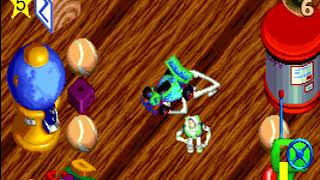 Toy Story Action Game/Power Play (PC 1996) Walkthrough