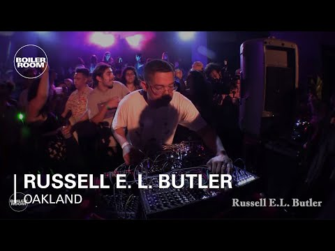 Russell E. L. Butler Boiler Room Oakland Live Set Mp3
