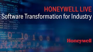 Honeywell LIVE: Software Transformation for Industry