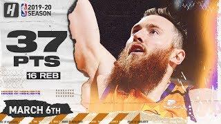 Aron Baynes CAREER-HIGH 37 Pts 16 Reb Full Highlights | Blazers vs Suns | March 6, 2020