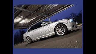 BMW 320ci e46 suppression de silencieux full tube inox exhaust sound