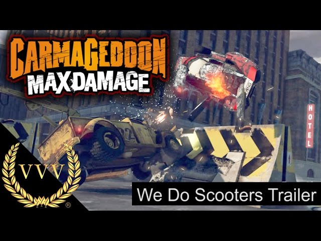 Carmageddon Max Damage We Do Scooters Trailer