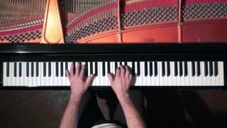 Bach Sinfonia No.9 (take 2) - P. Barton, FEURICH Harmonic Pedal piano