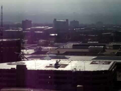 Helicopter Landing in Salt Lake City Hospital