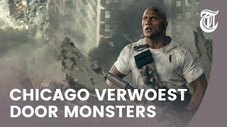 Recensie Rampage: monsters en spierballen met Dwayne 'The Rock' Johnson