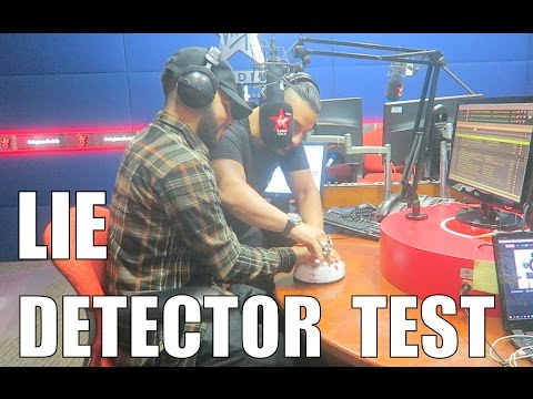 THE LIE DETECTOR TEST!! (SHOCKING)